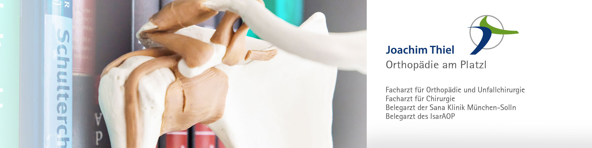 Behandlungsschwerpunkte Schultergelenk Orthopädische Praxis Joachim Thiel